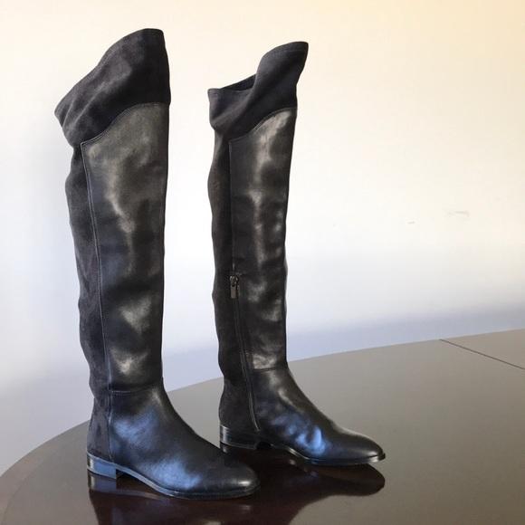 e5b3ed0a6b8 Lord   Taylor 424 Fifth Brand 6M Knee hi Boots